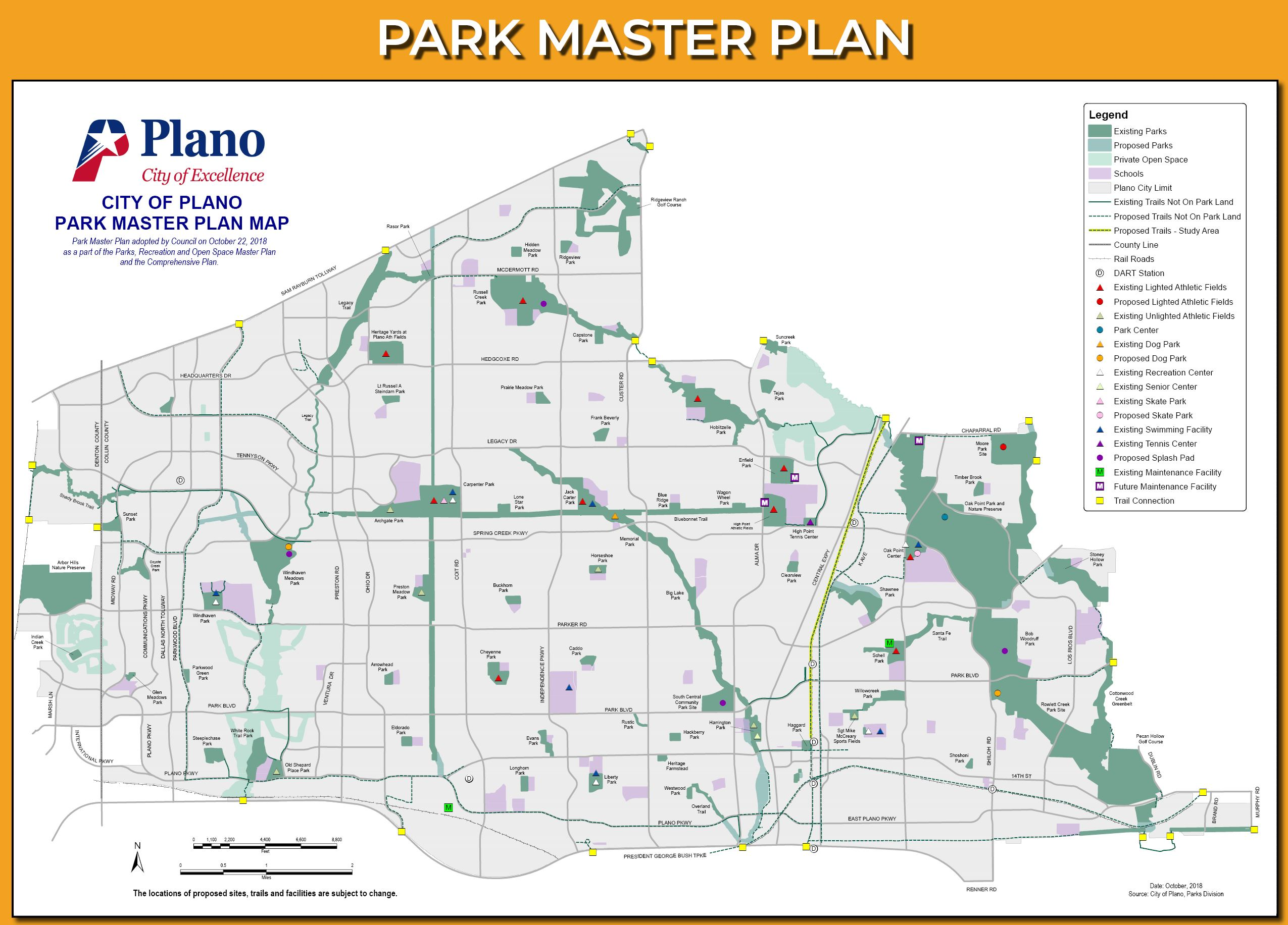 Park Master Plan Draft