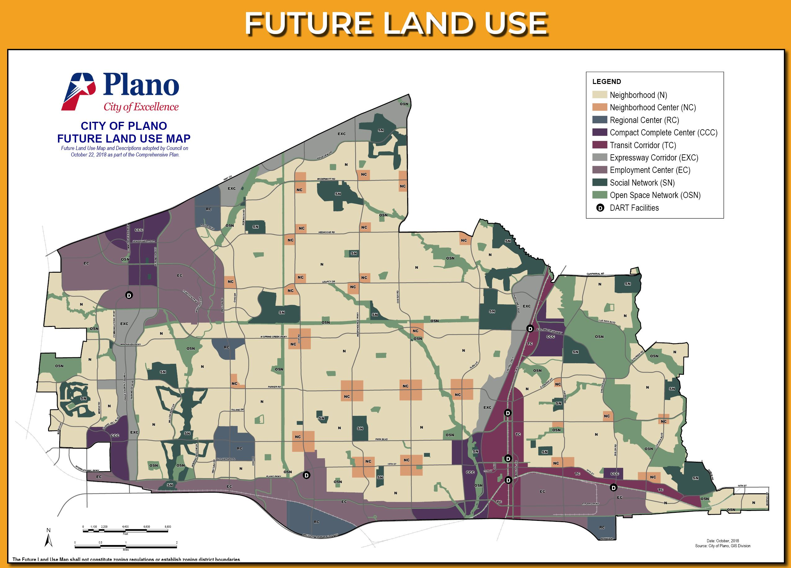 Future Land Use 2018
