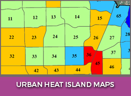 Urban Heat Island Maps